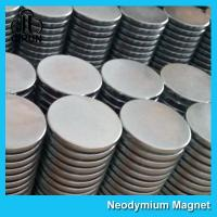 China Strong Disc NdFeB Rare Earth Neodymium Magnets 10mm X 1mm Custom Shaped wholesale