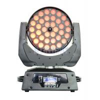 China AC 240V 360 W Led Wash Moving Head Stage Lights For Musical Concert wholesale