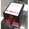 China Wineplus Liquor Tap Machine 1800ml Inner Tank With Customized Sticker wholesale