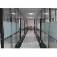 China Sliding Partition Movable Partition Walls For Bank Meeting Room Reception Hall wholesale