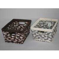 China hand made paper rope  storage gift basket wholesale