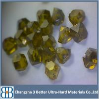 China Big Size Synthetic Diamond,Industrial Single Crystal Diamond For Diamond Tools wholesale
