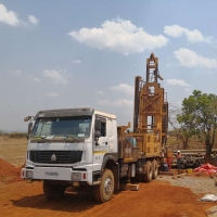 China 600m 219kw Trailer Mounted Water Well Drilling Rig on sale