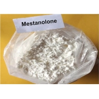 China Mestanolone CAS 521-11-9 Raw Steroid Powders Crystalline Powder Form White Powder wholesale