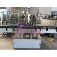 China Balanced Pressure Soft Drink Filling Machine 2000BPH For Carbonated Drinks wholesale