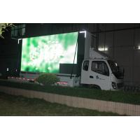 China Mobile Advertising Truck Mounted Led Screen P16 Energy Saving With Wide Viewing Angle wholesale