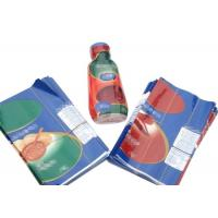 China Customized Printing Shrink Wrap Packaging Bottle Labels Transparent Film wholesale