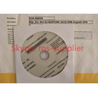 China OEM DVD 64 Bit Windows SQL Server 2016 Standard 15CAL Visualize Dense Data wholesale