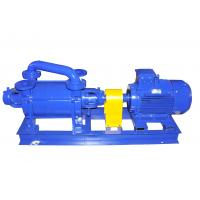 China Double Stage Water Liquid Seal Vacuum Pump Smooth Running For Sucking Air wholesale