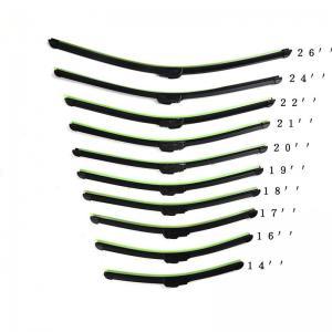 China Universal Car wiper blade U-type Soft Frameless Bracketless Rubber wholesale