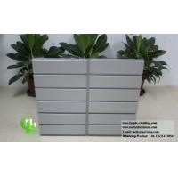 China Architectural Facade System Aluminium Wall Cladding Panels Powder Coated Waterproof wholesale