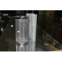 China SS metal Cylinderial Wire Mesh Filters For Oil / Air corrosion resistant wholesale