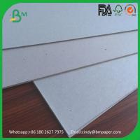 Quality 1000gsm 1200gsm 1500gsm 2000gsm grey chip board solid grey card board for sale