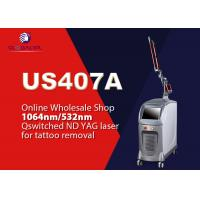 China Pigment Removal Q Switched Nd Yag Laser Tattoo Removal Machine 1064nm / 532nm wholesale