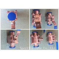 ASME BPE TP316L Stainless Steel Sanitary Valves And Fittings High Purity Manufactures