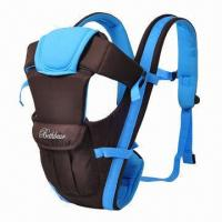 China Baby Carrier, Made of Polyester and Mesh wholesale