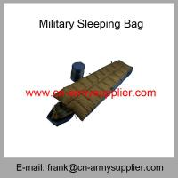 Wholesale Cheap China Army Green Leight-weight Military Sleeping Bag Manufactures