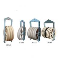 China Cast Steel Sheave Wire Rope Pulley Block / Heavy Duty Pulley Block CE Approval wholesale