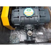 China Grey High Pressure Tri Lobe Roots Blower , Sewage Rotary Positive Displacement Blower on sale