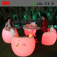 Buy cheap New Style Led Bar Chair / Led Furniture Led Table And Chairs from wholesalers