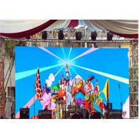 China Large Image Full Color Stage Curved Outdoor Advertising Led Display Screen P5.95 wholesale