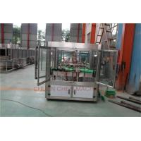 China Drink CSD Water Filling Capping And Labeling Package Machine Semi Automatic wholesale
