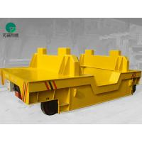 China motorized material handling pallet transfer rail vehicle large load powerd by cable wholesale