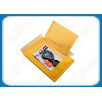 China Yellow / Golden Kraft Bubble Envelopes , 4 × 8 Bubble Mailers For Book , Catalogue wholesale