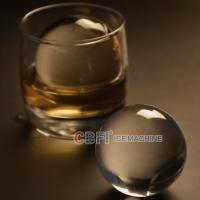 China 100% transparent ball ice forming machine with pure ice machine for beer and whiskey wholesale