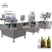 China 240 V 50 Hz 1 Phase Small Beer Filling Machine In - Build Bottle Tray Device wholesale