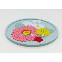 China OEM Wholesale Custom Soft Rubber PVC Coaster for promotional gifts wholesale