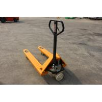 China Low Profile Electric Pallet Jack With Brake System Rough Terrain Truck wholesale