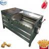 China Potato Washing Machine Potato Washing Machine / Automatic Potato Peeler Machine wholesale