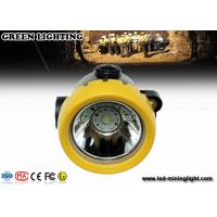 China 2.2Ah lithium battery mining cap lights , CREE LED lighting 171g convenient wholesale