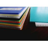 China Waterproof And Lightweight Fluted Twin Wall Plastic Sheet on sale
