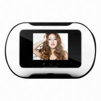 China 2.5-inch LCD Screen Digital Door Peephole Viewer with 35 to 90mm Thickness wholesale