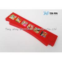 China Red 6 Button Sound Module For Kids Sound Books As Indoor Educational Toys wholesale