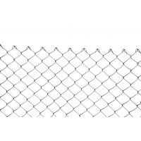 China PVC Coated Easily Assembled Custom Wire Mesh Chain Link Fence For Fencing Areas wholesale