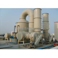China PP Air Pollution Scrubbers , Hydrochloric Acid Scrubber For Removing Chemical Gas Dust on sale