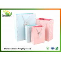 China Fashionable Coated Printed Paper Gift Bags with Different Sizes for Customization wholesale