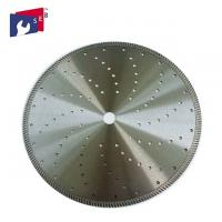 China 12 Inch Diamond Saw Tools , Concrete Cutting Blade Good Thermal Performance wholesale