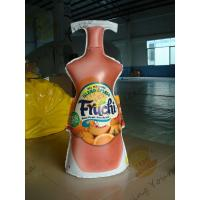 China Fashionable Inflatable Drink Bottle / Lightweight Inflatable Marketing Products on sale