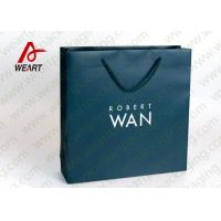 Soft Touch Film Strong Custom Printed Paper Bags No Minimum Silk Screen Printing Manufactures