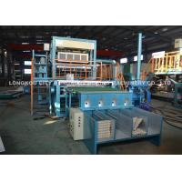 3000pcs/Hr Paper Pulp Molding Machinery with Single Layer Mental Drying Line , paper egg tray machine