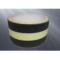 China PET Film Covered Non Skid Safety Tape With Glowing Strip OEM Service on sale