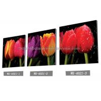 China Decoration Flower Pictures Custom Lenticular Printing Frameless PET Printing wholesale