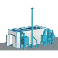 China Rovan Dust Cleaning Sand Blasting Room , Abrasive Blast Cabinet Customized Power wholesale