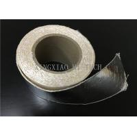 China High Temperature Resistant Fireproof High Silica Fabric Tape Aluminum Foil Coated wholesale