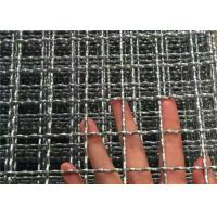Buy cheap Stainless Steel 304 And 316 Crimped Woven Wire Mesh Filtering Type Long Life from wholesalers