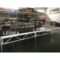 China 1 - 1.4m Indoor / Outdoor Assemble Aluminum Stage Platform 6082-T6 Material For Events wholesale